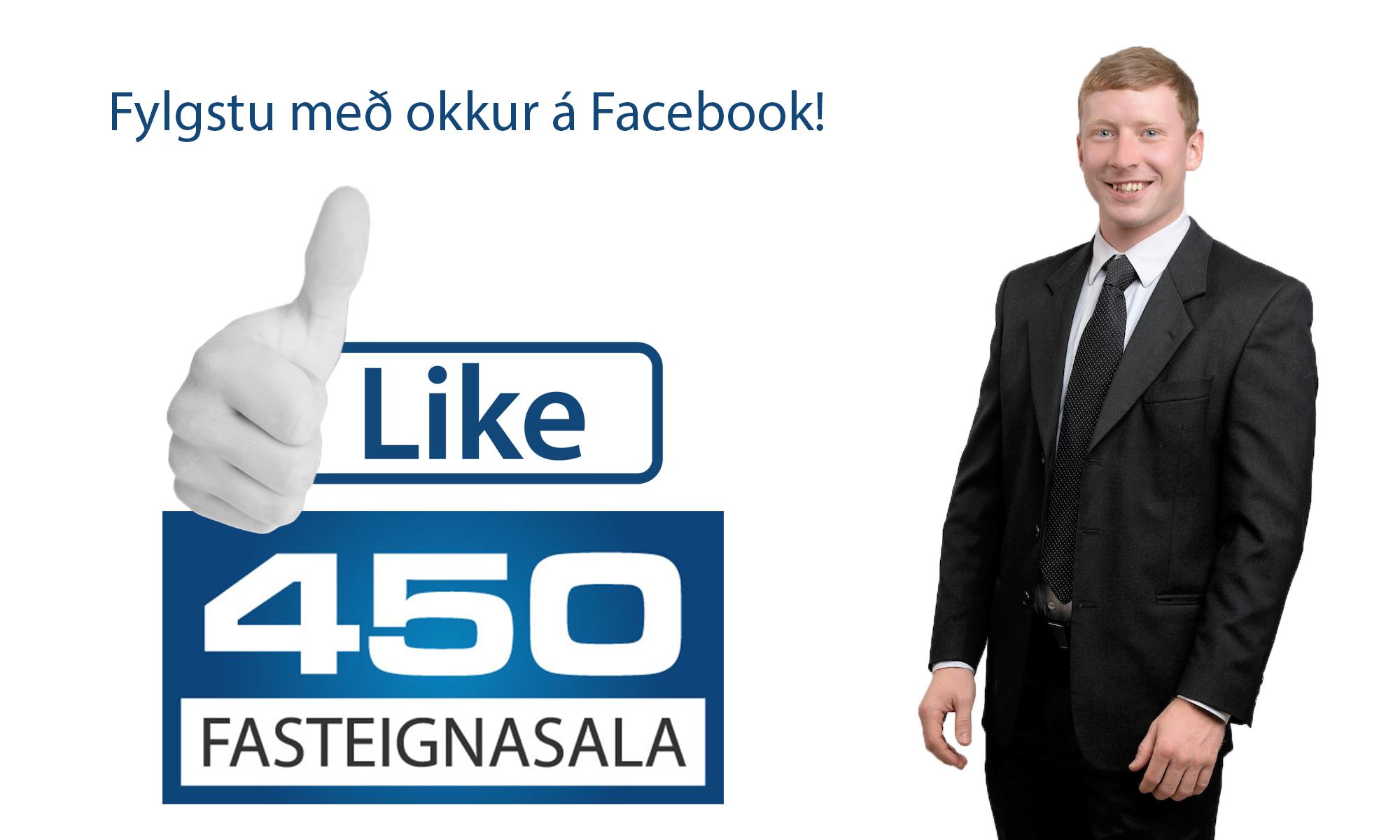 Facebook síða 450 Fasteignasölu